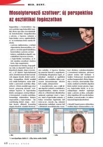 Cikk: Mosolytervező szoftver: új perspektíva az esztétikai fogászatban